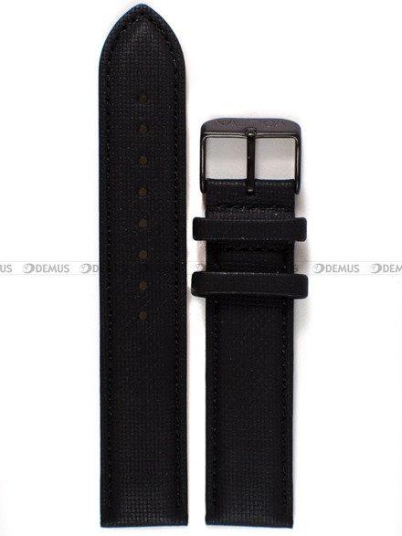 Pasek skórzany do zegarka Nautica A18685G - 20 mm