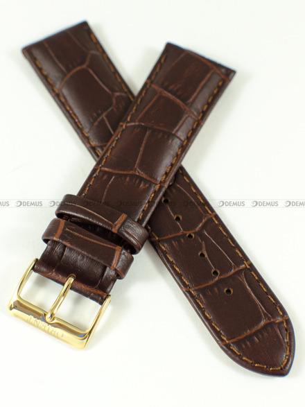 Pasek skórzany do zegarka Orient FAG00002W0 - UDFJBAT - 22 mm