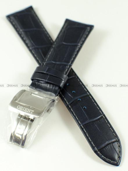 Pasek skórzany do zegarka Orient FET0T004D0, SET0T004D0 - UDEYDSD - 22 mm