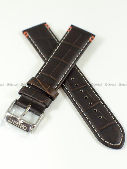 Pasek skórzany do zegarka Orient FEU0B004TH - UDFFCS0 - 22 mm