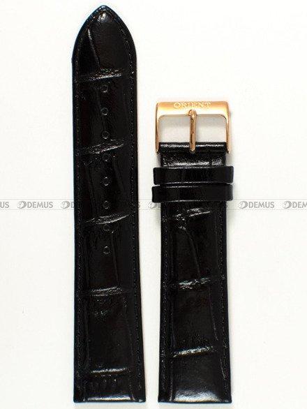 Pasek skórzany do zegarka - Orient FUG1R004B6 UDDYLRB - 22 mm