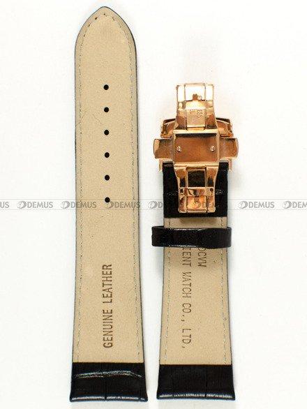 Pasek skórzany do zegarka - Orient FETAC007B0 UDCVWRB - 24 mm