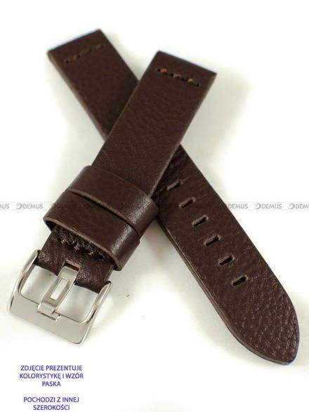 Pasek skórzany do zegarka - Pacific W23.26.2.2 - 26 mm