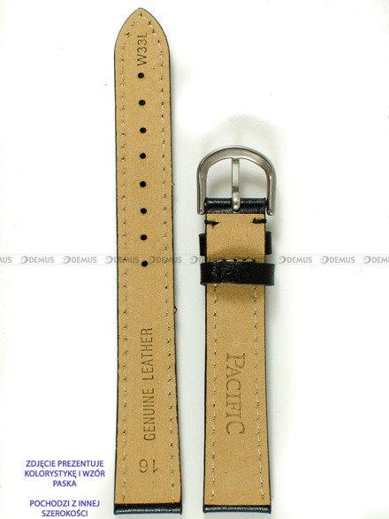 Pasek skórzany do zegarka - Pacific W33L.12.1.1 - 12 mm