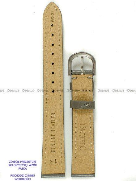 Pasek skórzany do zegarka - Pacific W33L.14.6.6 - 14 mm