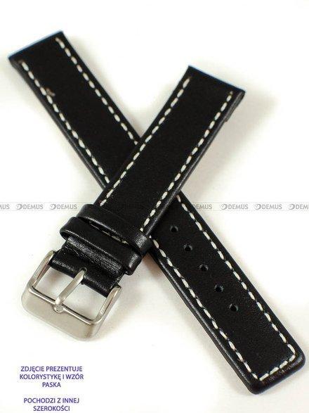 Pasek skórzany do zegarka - Pacific W37.22.1.7 - 22 mm
