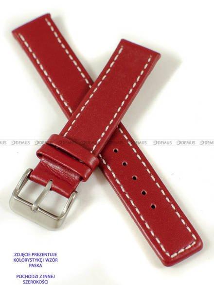 Pasek skórzany do zegarka - Pacific W37.24.4.7 - 24 mm