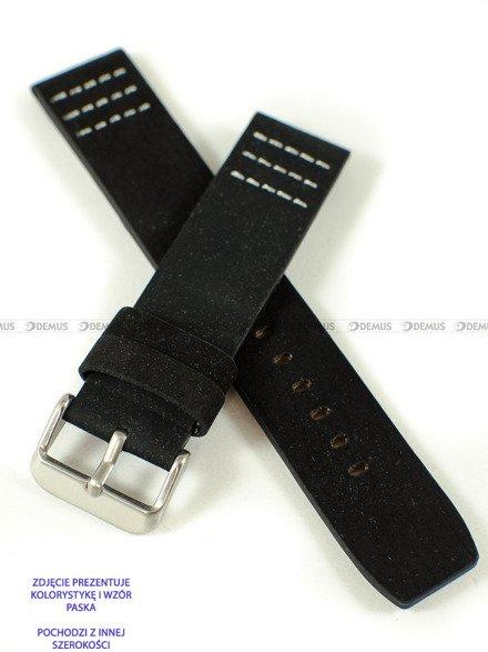 Pasek skórzany do zegarka - Pacific W39.22.1.7 - 22 mm