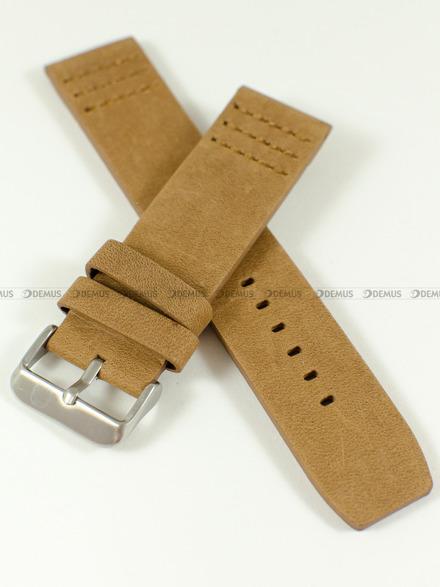 Pasek skórzany do zegarka - Pacific W39.22.3 - 22 mm