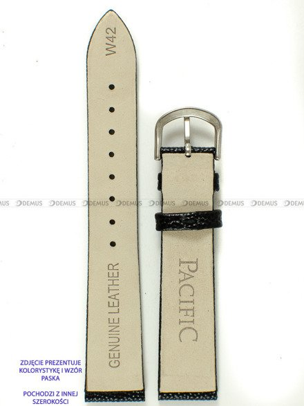 Pasek skórzany do zegarka - Pacific W42.14.1 - 14 mm