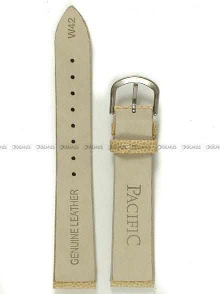 Pasek skórzany do zegarka - Pacific W42.18.71 - 18 mm