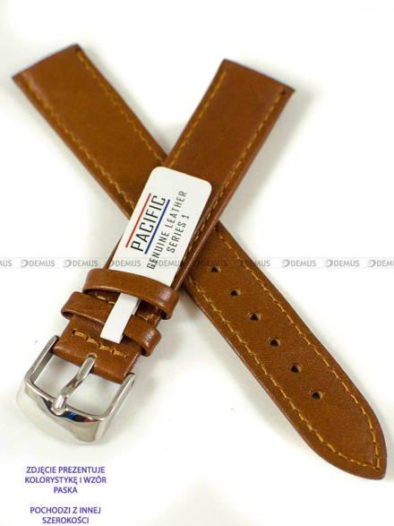 Pasek skórzany do zegarka - Pacific W44L.22.3.3 - 22 mm