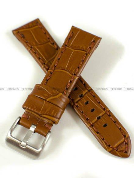 Pasek skórzany do zegarka - Pacific W49.20.3.3 - 20 mm