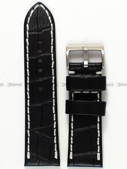 Pasek skórzany do zegarka - Pacific W49.24.1.7 - 24 mm