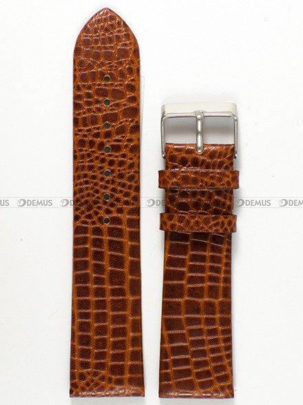 Pasek skórzany do zegarka - Pacific W57.22.3 - 22 mm