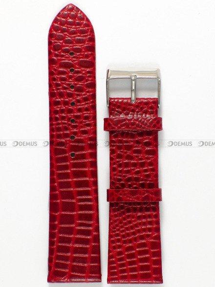 Pasek skórzany do zegarka - Pacific W57.22.4 - 22 mm