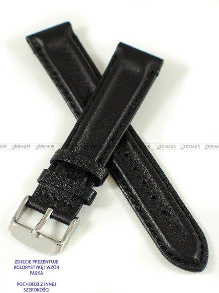 Pasek skórzany do zegarka - Pacific W65.22.1.1 - 22 mm