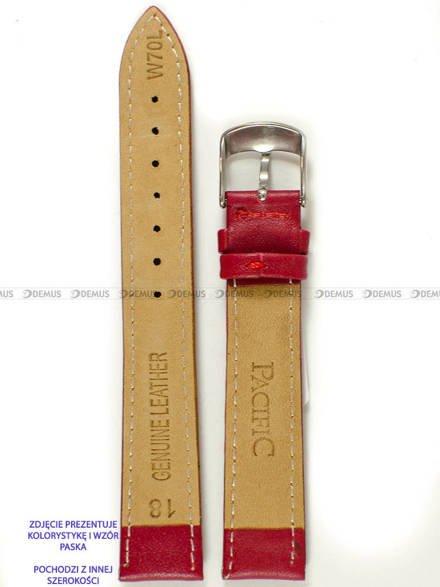 Pasek skórzany do zegarka - Pacific W70L.14.4.4 - 14 mm