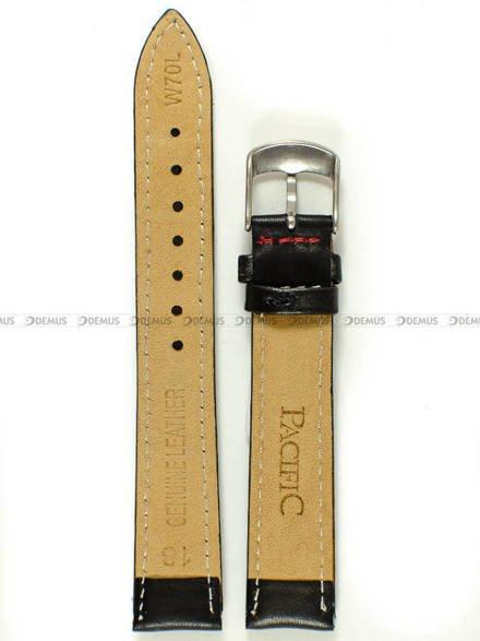 Pasek skórzany do zegarka - Pacific W70L.18.1.4 - 18 mm