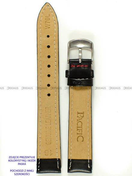 Pasek skórzany do zegarka - Pacific W70L.22.1.4 - 22 mm