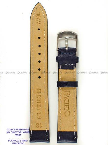Pasek skórzany do zegarka - Pacific W70L.22.5.5 - 22 mm
