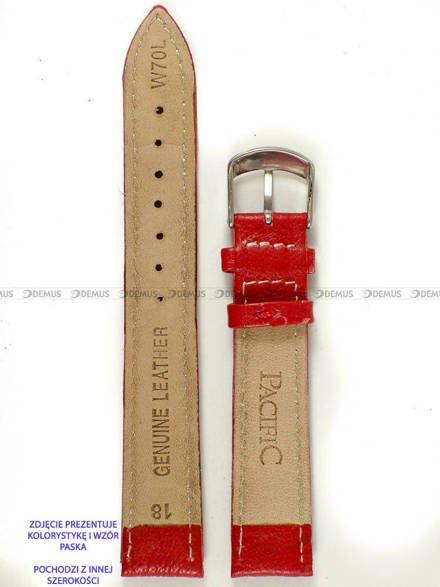 Pasek skórzany do zegarka - Pacific W70L.24.4.7 - 24 mm