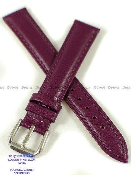 Pasek skórzany do zegarka - Pacific W94.12.14.14 - 12 mm