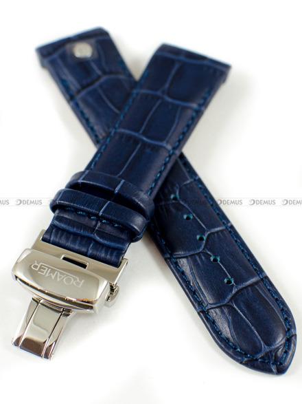 Pasek skórzany do zegarka Roamer - 508293 41 45 05 - 22 mm