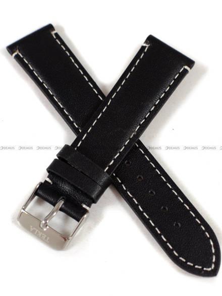 Pasek skórzany do zegarka - Tekla PT19.20.1.7 - 20 mm