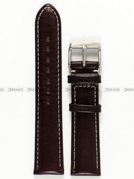 Pasek skórzany do zegarka - Tekla PT24.20.2.7 - 20 mm
