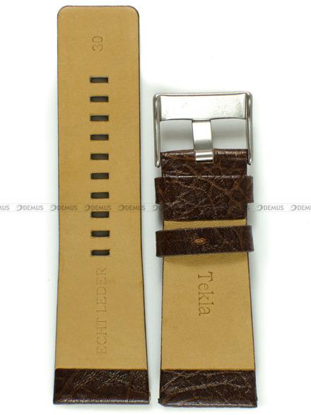 Pasek skórzany do zegarka - Tekla PT30.30.2 - 30 mm