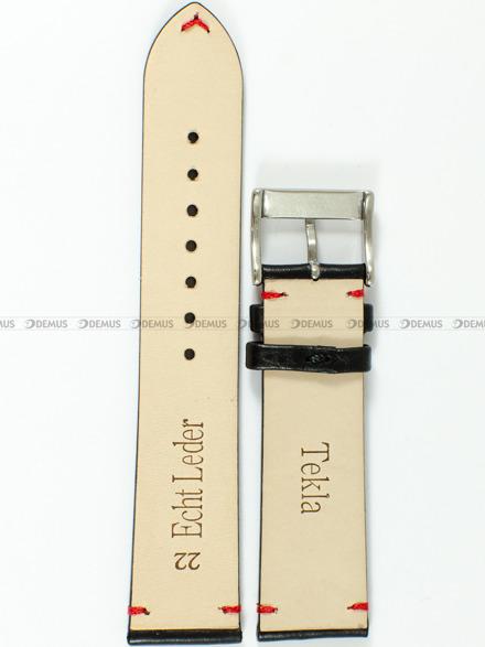 Pasek skórzany do zegarka - Tekla PT47.22.1.4 - 22 mm