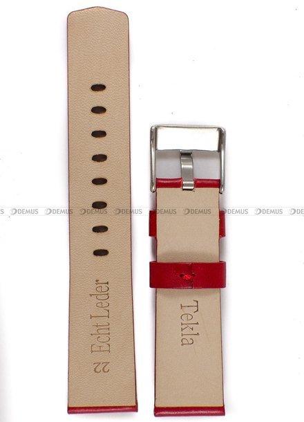 Pasek skórzany do zegarka - Tekla PT48.22.4 - 22 mm