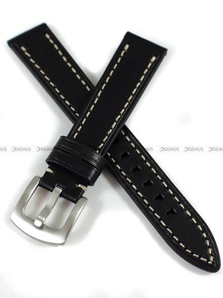 Pasek skórzany do zegarka - Tekla PT64.18.1.7 - 18 mm