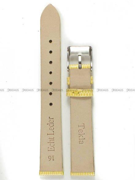 Pasek skórzany do zegarka - Tekla PT7.16.11 - 16 mm