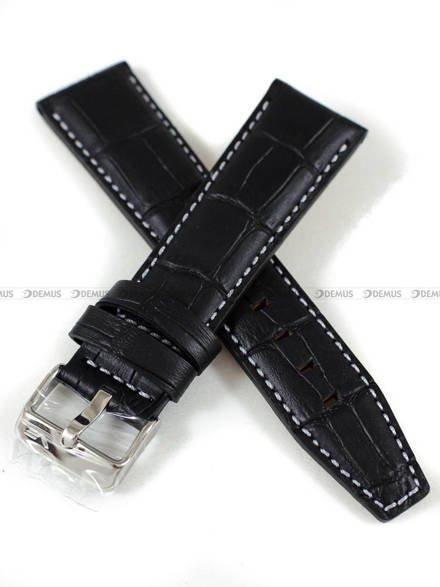 Pasek skórzany do zegarka Vostok Limousine Gaz-14 6S21-565A598 - 23 mm