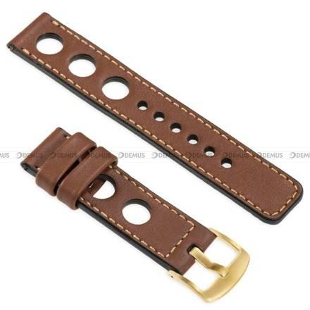 Pasek skórzany do zegarka lub smartwatcha - moVear WQU0R01GD00GDPM22B2 - 22 mm