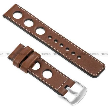 Pasek skórzany do zegarka lub smartwatcha - moVear WQU0R01SL00SLBM18B2 - 18 mm