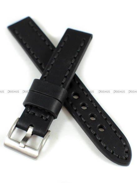 Pasek skórzany ręcznie robiony do zegarka - Tekla PT-HM3-18.1.1 - 18 mm
