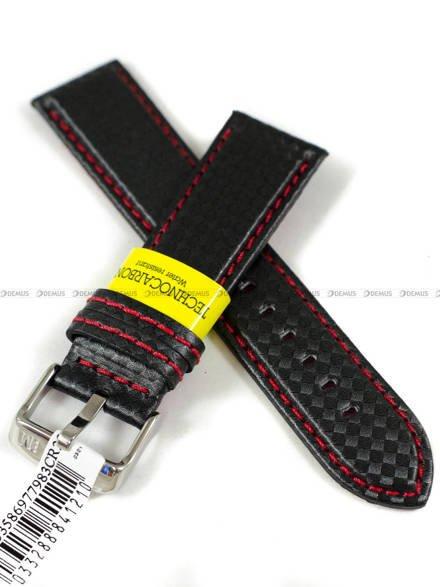 Pasek wodoodporny karbonowy do zegarka - Morellato A01U3586977983CR22 - 22 mm