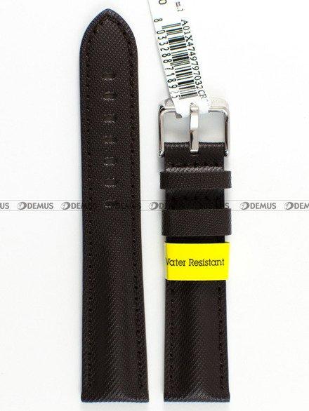Pasek wodoodporny skórzany do zegarka - Morellato A01X4749797032 - 18 mm