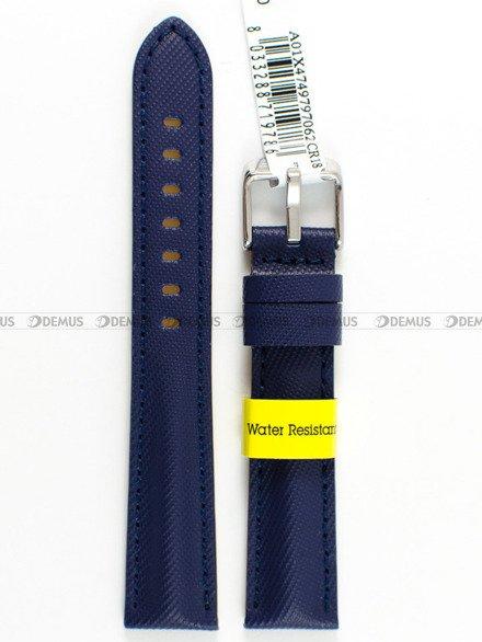 Pasek wodoodporny skórzany do zegarka - Morellato A01X4749797062 - 18 mm