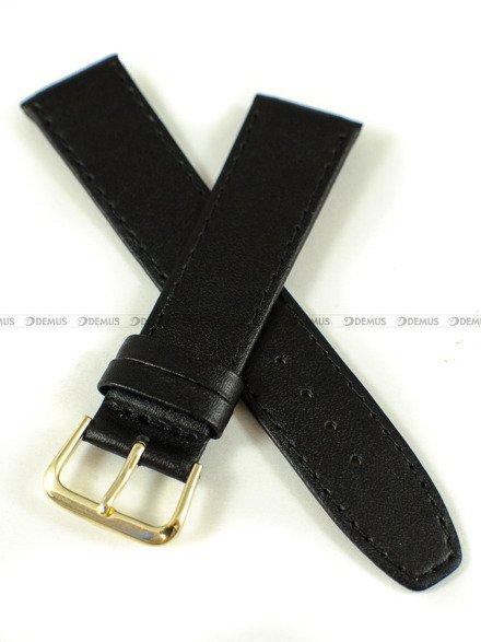 Pasek zaczepowy klejony skórzany do zegarka - K.Reda.2.20.1 - 20 mm