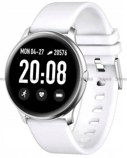 Smartwatch Pacific 25-3-Silver-White