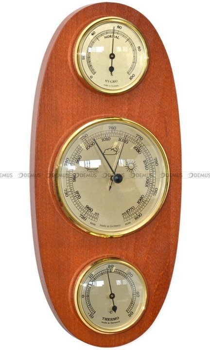 Stacja Pogody Barometr Termometr Higrometr - Demus SP-3J-G-BWA2