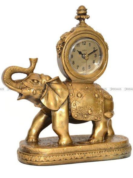 Zegar kominkowy kwarcowy figurka Słoń - Adler 80021