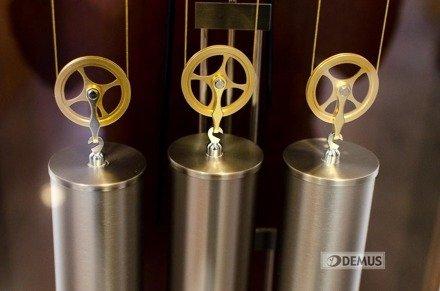 Zegar mechaniczny stojący Hermle Lambert-Silver-09