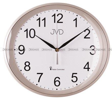 Zegar na ścianę plastikowy RH64.5 radio controlled