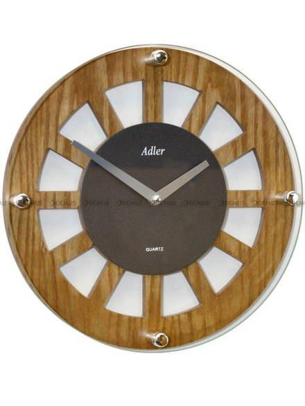 Zegar ścienny Adler 21158-OAK-ANTRACYT