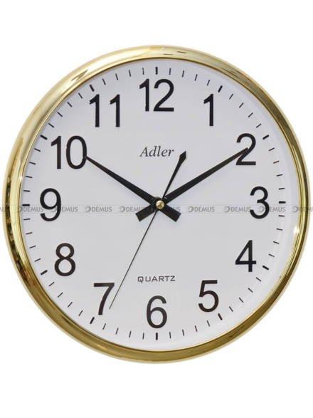 Zegar ścienny Adler PW110-1700-G 31 cm